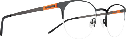 TONIK 5 TO5C1 noir/anthracite/orange